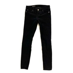 Kut From the Kloth Mia Toothpick Skinny Cords Blk